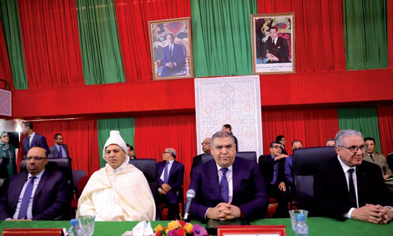 Abdelouafi Laftit souligne l'urgence d'accélérer la mise  en application du plan de régionalisation avancée