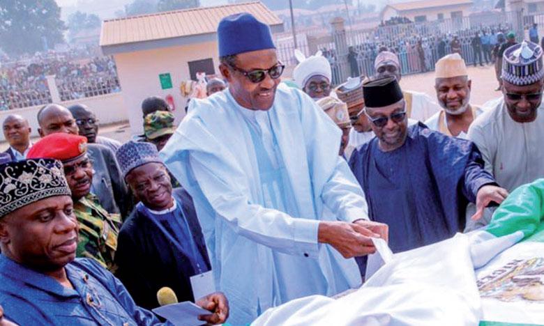 Le Président en exercice, Muhammadu Buhari, brigue un second mandat.                                                                                                                                                        Ph. DR
