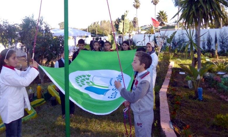 """Eco-Ecoles : 146 écoles labellisées """"Pavillon Vert"""" à Casablanca-Settat"""