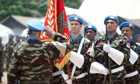 Deux officiers marocains décorés pour leur contribution à la stabilisation en République démocratique du Congo