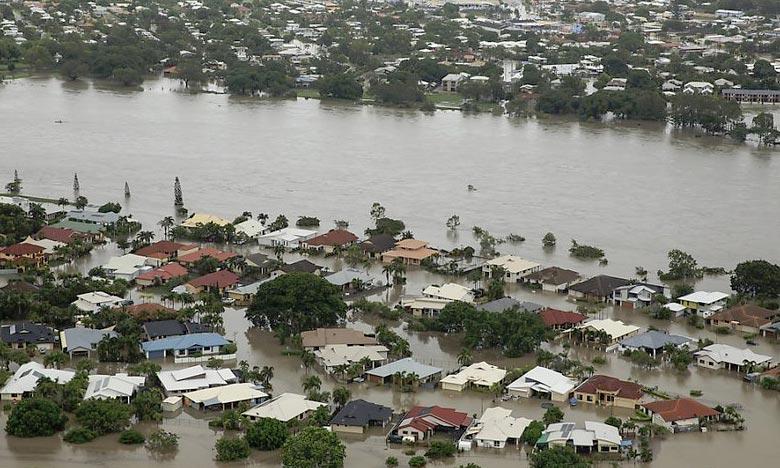 Des pluies torrentielles se sont abattues sur l'État du Queensland. De nouvelles précipitations et inondations sont attendues en Australie, déjà frappée par un déluge historique. Ph : DR