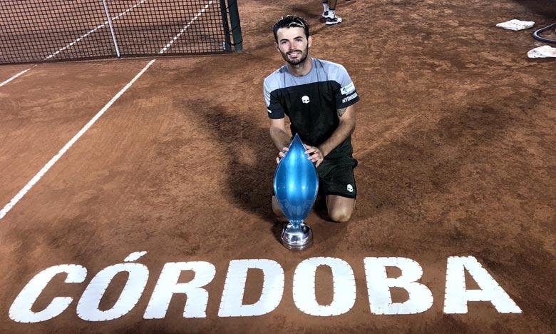 Juan Ignacio Londero a remporté son premier titre ATP en s'imposant en finale du tournoi de Cordoba face à Guido Pella (3-6, 7-5, 6-1). Ph : DR
