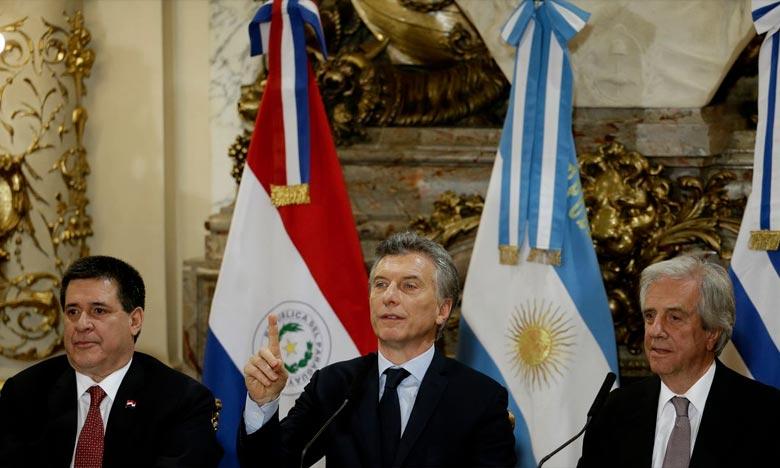 Candidature commune Argentine-Chili-Paraguay-Uruguay