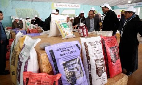 Le Groupe OCP accompagne les agriculteurs de Sidi Slimane