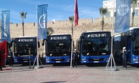 Le nombre de populations qui bénéficieront des services de ces bus urbains s'élève à plus de 300.000 habitants. Ph. DR