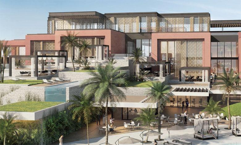 Propriété d'Assoufid Properties Development, le St. Regis Marrakech Resort fera partie du complexe Assoufid Golf Resort et comprendra 80 chambres  et villas luxueuses.