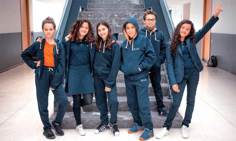 A la fin de leur cursus scolaire, les élèves de l'école EIC Almaz-Groupe Sana Éducation sont parfaitement trilingues.  Ph. DR