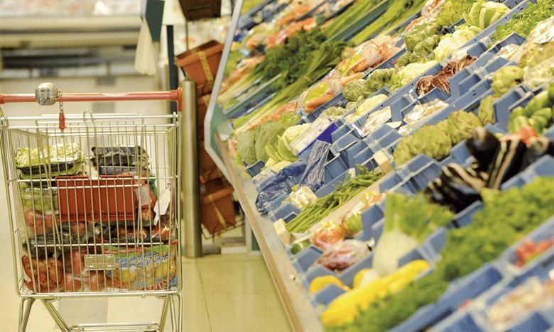 Les prix des produits alimentaires ont baissé de 2,3% en janvier2019, comparé à janvier2018.