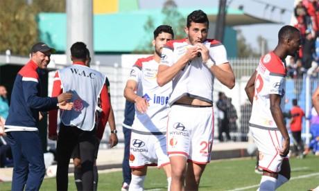 Le WAC fait le grand trou après sa victoire sur Rapide Oued Zem