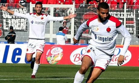 Le Wydad de Casablanca occupe la première place du groupe avec 6 points, grâce à une meilleure différence de buts avec les Mamelodi Sundowns (Afrique du Sud) . Ph : Seddik