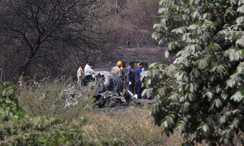 Crash mortel d'un Mirage 2000 en Inde