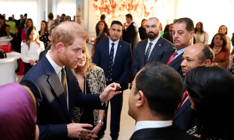 Le Prince Harry et son épouse rencontrent des femmes entrepreneures marocaines