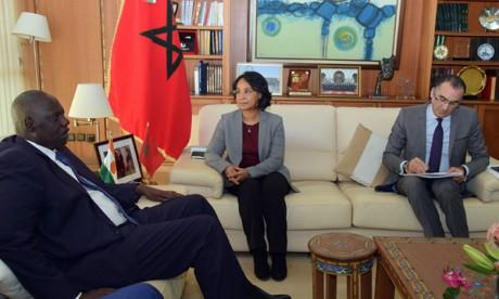 Mounia Boucetta: Le Royaume est fortement engagé  en faveur de la sécurité  et du développement au Sahel