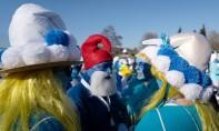 Les schtroumpfs battent le record du monde du plus grand rassemblement