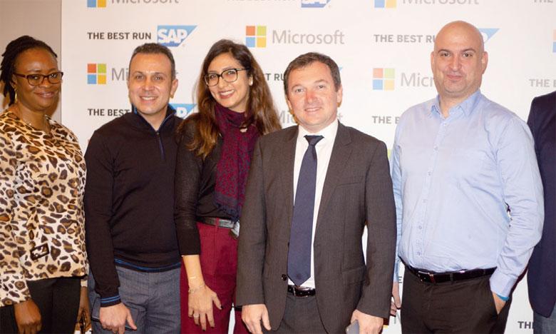 Microsoft et SAP s'allient pour l'Afrique francophone