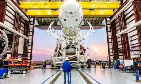 SpaceX : La Nasa autorise un vol d'essai