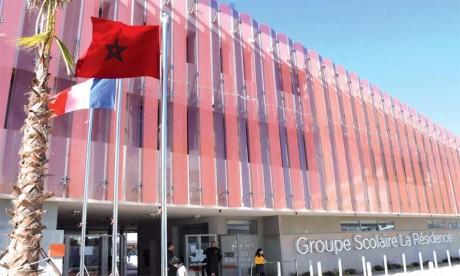 Situé au cœur du nouveau projet urbain Casa Anfa, le nouvel établissement du GSR est innovant  et entièrement connecté.  Ph. Saouri