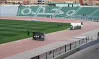 D'une capacité d'accueil de 20.000 places, le stade d'Honneur d'Oujda comprend des loges aménagées en prévision de la technique d'assistance vidéo à l'arbitrage (VAR), qui sera adoptée dès la saison prochaine de la Botola Pro. Ph : MAP