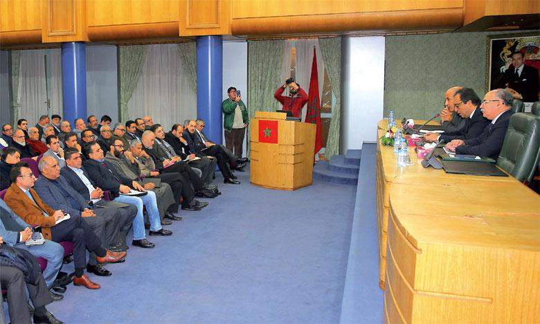 Abdelkader Amara décline les quatre axes fondamentaux de la vision stratégique