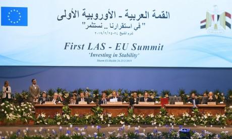 Discours de S.M. le Roi Mohammed VI au premier Sommet arabo-européen