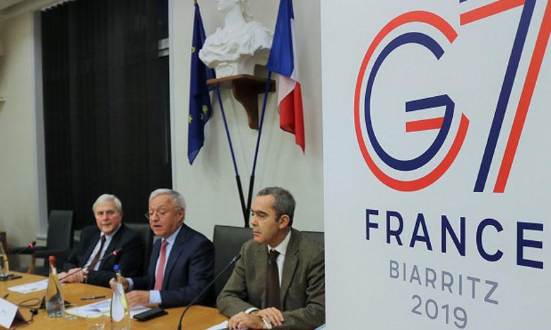 Lors du précédent G7 au Canada, le communiqué final, difficilement élaboré avec les États-Unis, avait été renié par Donald Trump juste après la fin du sommet.                                                                                 Ph. AFP
