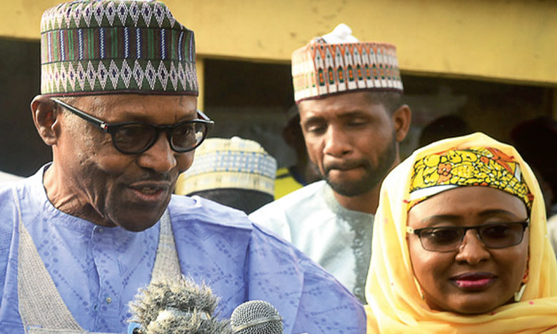 Muhammadu Buhari a été réélu Président du Nigeria avec 56% des voix.Ph. AFP