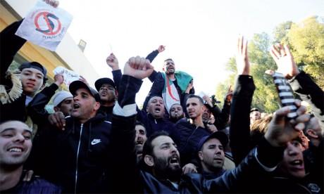 Protestations contre un cinquième mandat de Bouteflika