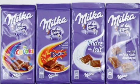 Mondelez International prend  en main sa marque Milka au Maroc