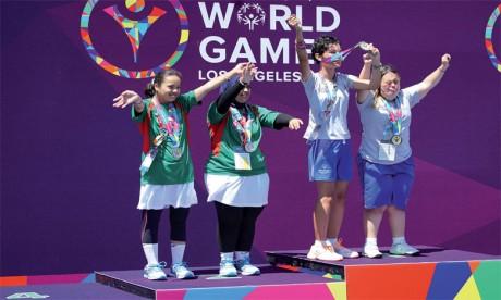 Une délégation de 41 athlètes représentera le Maroc  aux Jeux mondiaux à Abu Dhabi