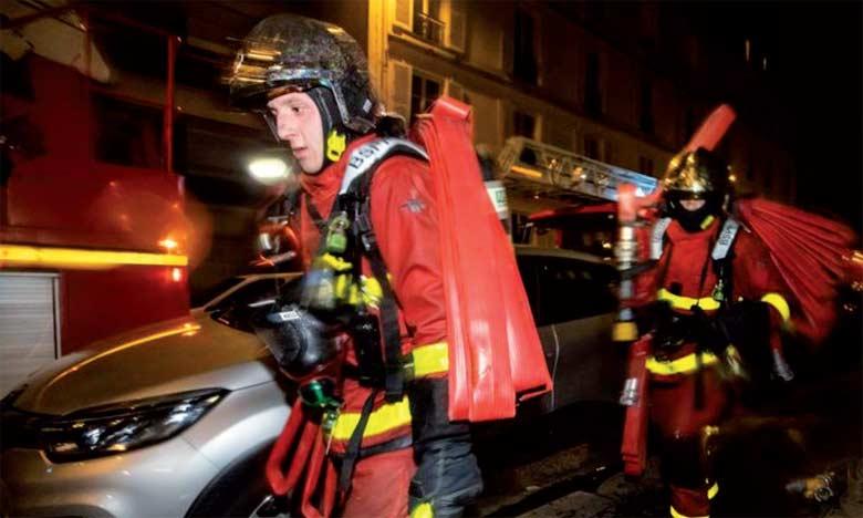 Les pompiers évoquent une «scène d'une incroyable violence».