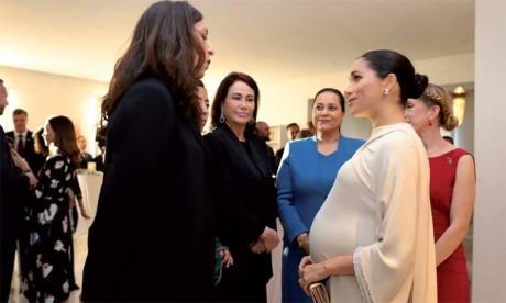Le Prince Harry et son épouse rencontrent des femmes entrepreneures marocaines et des sportifs aux besoins spécifiques
