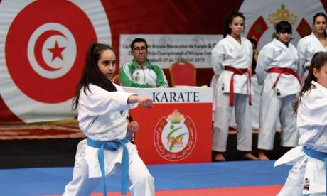 Ce tournoi a permis aux karatékas d'alimenter leur compteur en points en vue de la qualification pour les JO2020.                                                       Ph. Saouri