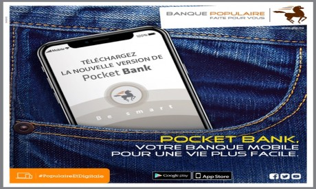 Banque Populaire: Coup de lifting pour l'application de Mobile Banking