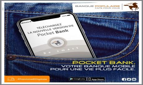 Banque Populaire: Coup de lifting pour l'application de Mobile Banking