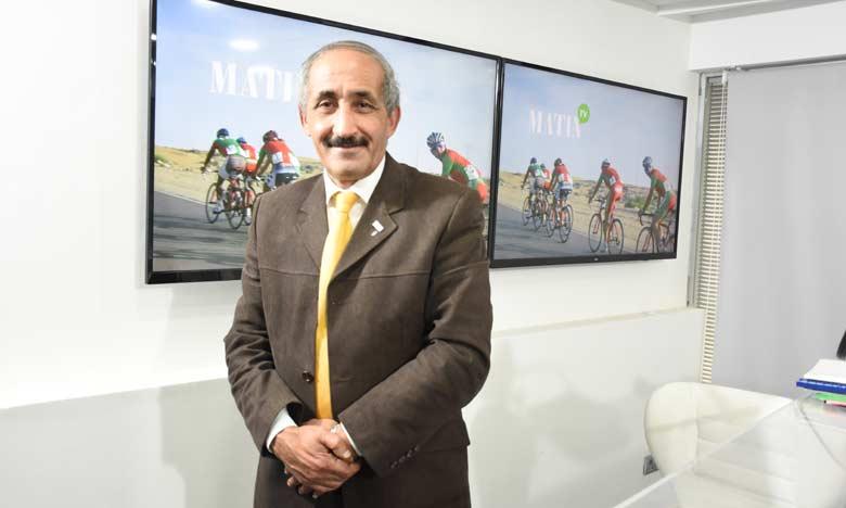 «S.M. le Roi Mohammed VI nous a fait don d'un terrain à Bouskoura  pour construire un nouveau vélodrome»
