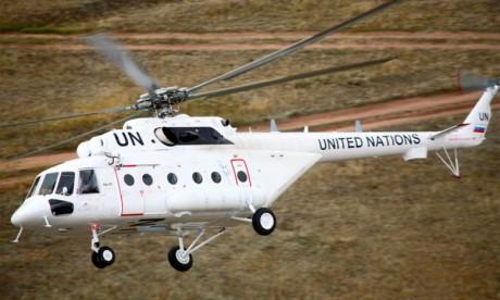 Trois morts dans le crash d'un hélicoptère de l'Onu