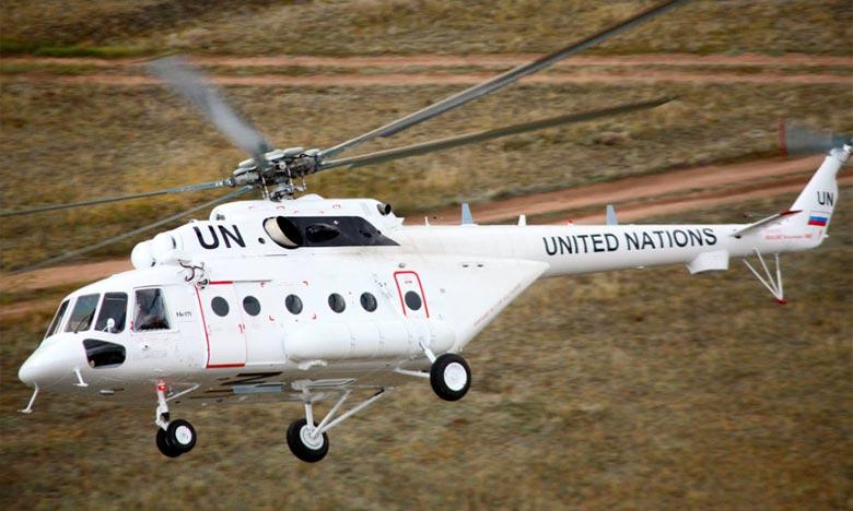 L'hélicoptère  transportait 23 passagers au moment du crash survenu samedi dans l'enceinte de la Force de sécurité intérimaire des Nations unies pour Abiyé (FISNUA), «tuant trois des membres de son équipage». Ph : DR