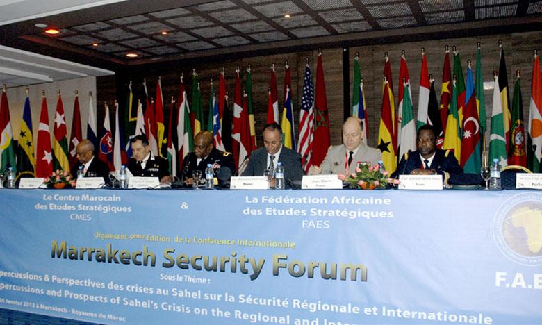 La dixième édition du Marrakech Security Forum débat des défis sécuritaires du continent