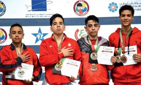 Le Maroc rafle 28 médailles lors de la première journée