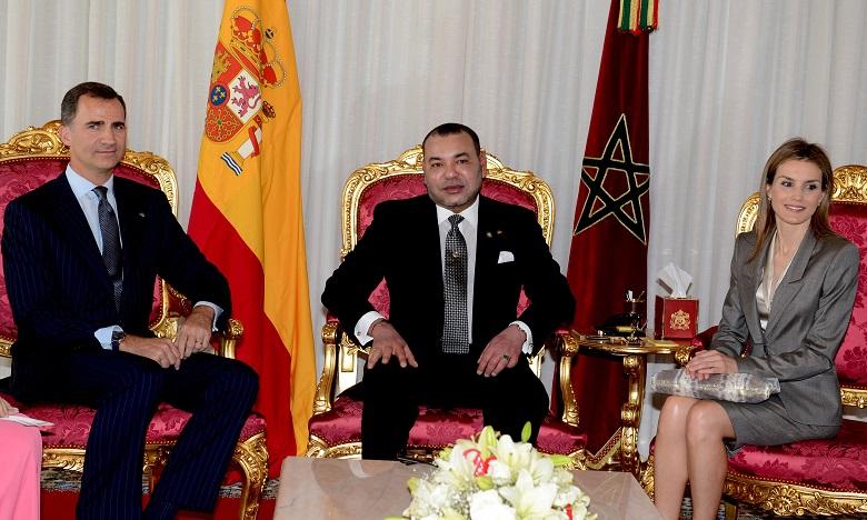Le Roi Felipe VI et la Reine Letizia en visite officielle au Maroc