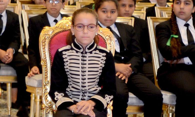 Le peuple marocain célèbre aujourd'hui le 12e anniversaire de S.A.R. la Princesse Lalla Khadija