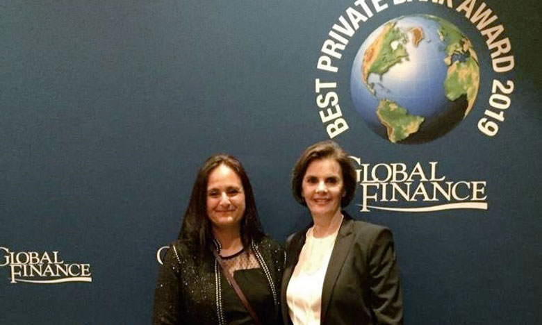 La banque privée primée par l'américain «Global Finance»