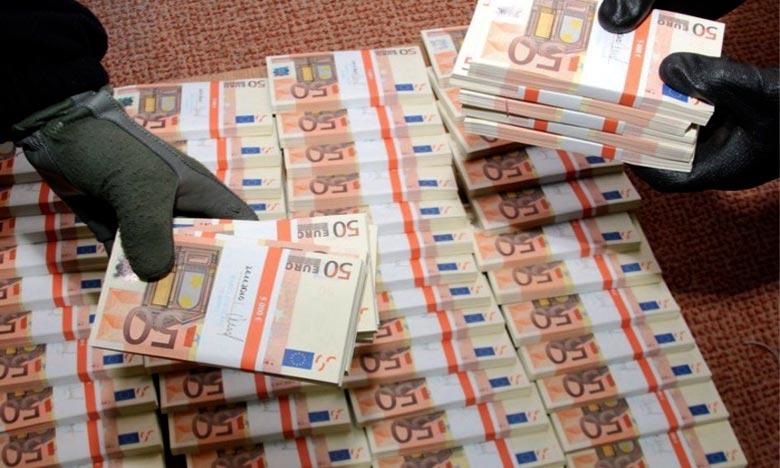 L'opération a permis l'arrestation d'un un citoyen marocain qui tentait de faire sortir du territoire national cette somme d'argent de manière illégale vers le préside occupé de Sebta . Ph : DR