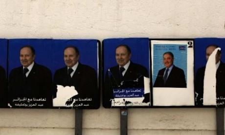 Le Président Bouteflika, candidat des partis de la majorité au pouvoir à la présidentielle d'avril