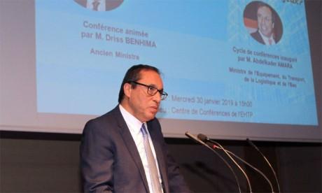 Abdelkader Amara s'enquiert de l'état d'avancement des travaux de construction du barrage de Kaddoussa