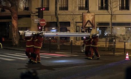 Le Consulat général avait appris auprès des autorités françaises qu'une ressortissante marocaine âgée de 23 ans était décédée dans cet incendie. Ph : AFP