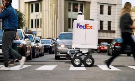 FedEx dévoile ses robots de livraison