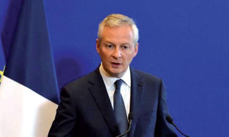 «Les manifestations aujourd'hui ne mènent plus nulle part. Elles mènent à une impasse», a déclaré Bruno Le Maire. Ph. AFP