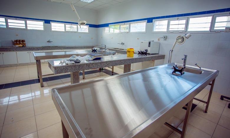 Le centre médico-légal offre de nombreux services notamment ceux dédiés aux défunts et à leur ayants droit. Ph : MAP