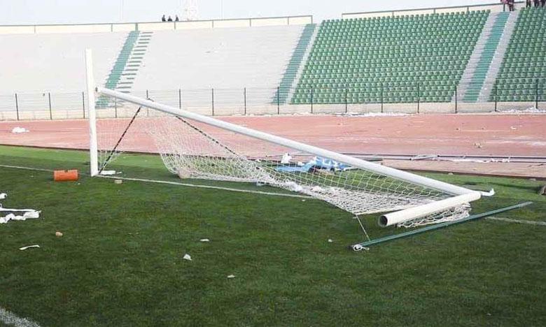 Des scènes de chaos au Stade d'honneur d'Oujda
